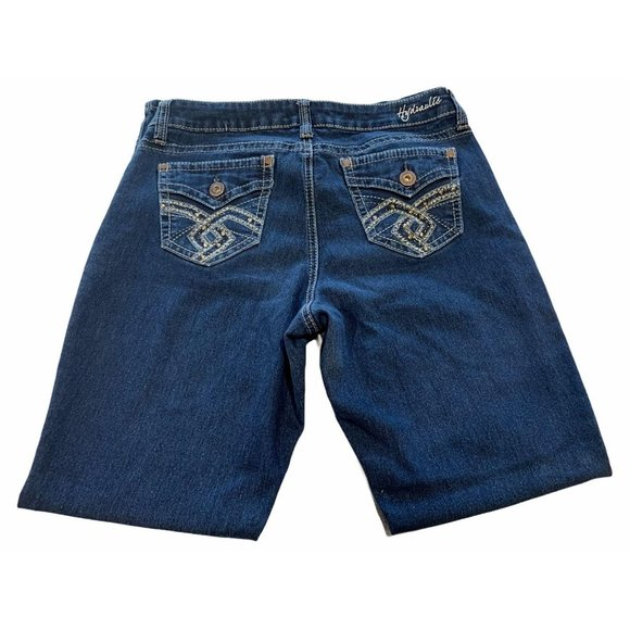 Hydraulic Jeans Stretch Bootcut Mid Rise